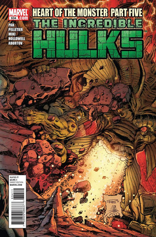 THE INCREDIBLE HULK #634