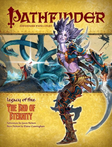 PATHFINDER ADVENTURE 22 - LEGACY OF FIRE: THE END OF ETERNITY