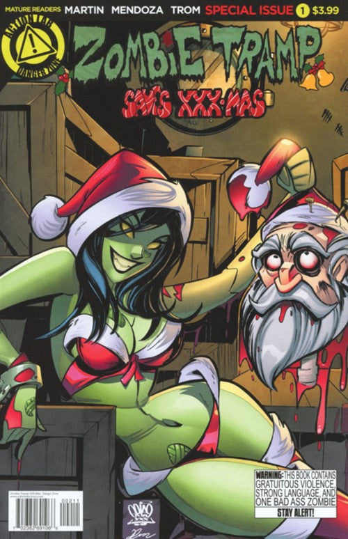 ZOMBIE TRAMP SAVES XXX-MAS #1