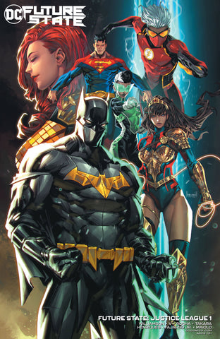 FUTURE STATE: JUSTICE LEAGUE (2020) #1 VARIANT