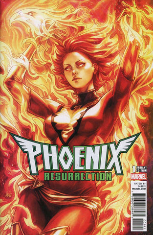 Phoenix Resurrection The Return of Jean Grey (2017 Marvel) #1