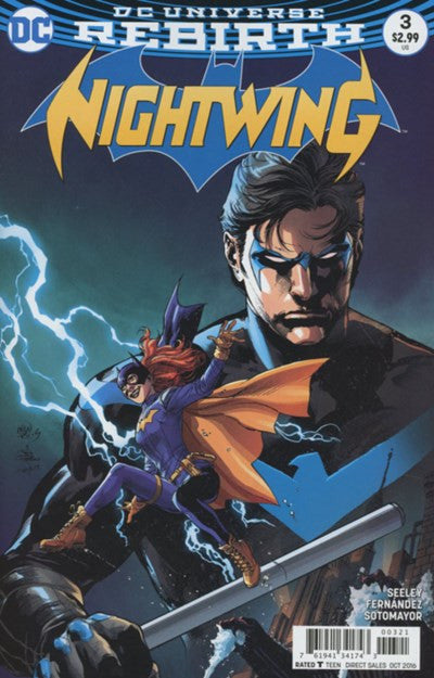 NIGHTWING #3 VARIANT (2016)