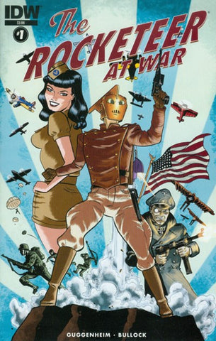 THE ROCKETEER AT WAR #1