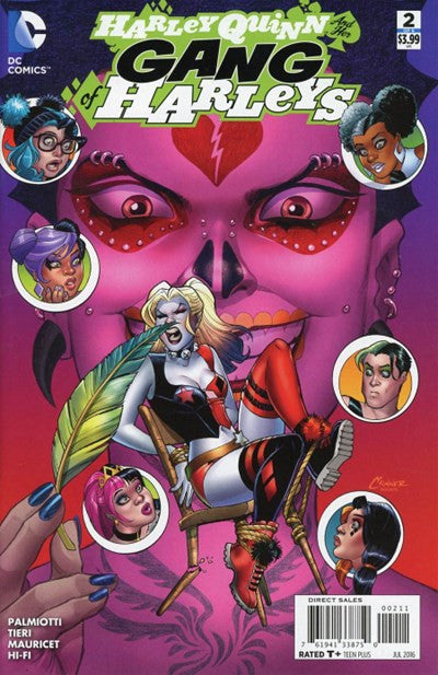 HARLEY AND HER GANG OF HARLEYS #2 (2016)