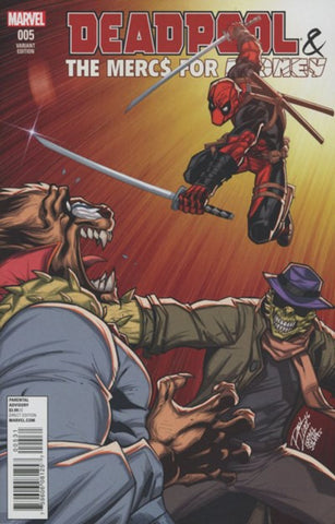 DEADPOOL & THE MERCS FOR MONEY #5 (2016) VARIANT