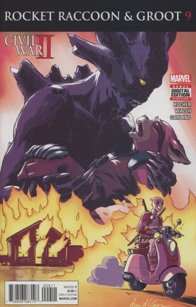 ROCKET RACCOON AND GROOT #9