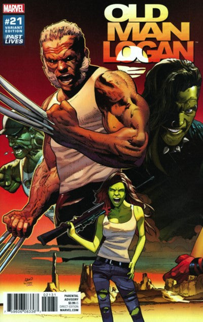 OLD MAN LOGAN #21 1:10 VARIANT COVER