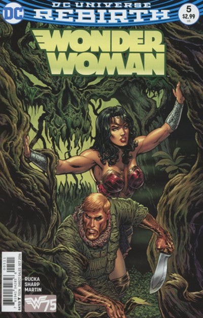 WONDER WOMAN #5 (REBIRTH)