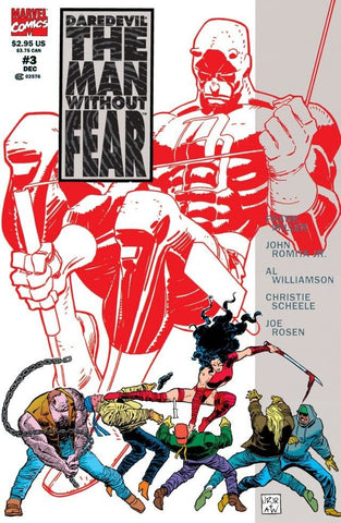 DAREDEVIL: THE MAN WITHOUT FEAR(1993) #3 (OF 5)