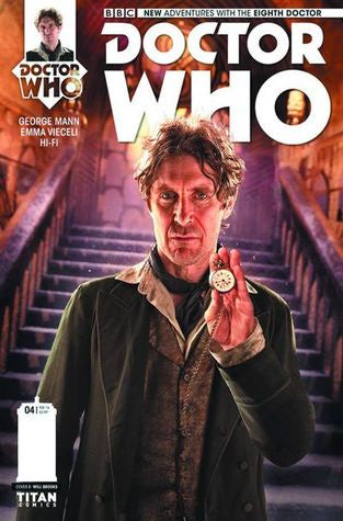 DOCTOR WHO: THE EIGHTH DOCTOR #4 PHOTO VARIANT