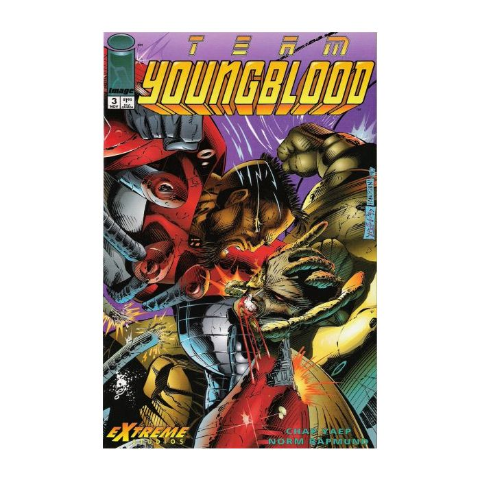 TEAM YOUNGBLOOD (1993) #3