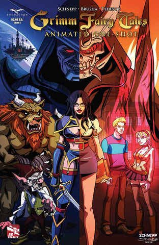 GRIMM FAIRY TALES ANIMATED ONE-SHOT (2012)