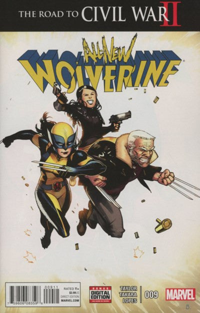 ALL-NEW WOLVERINE #9 (2016)