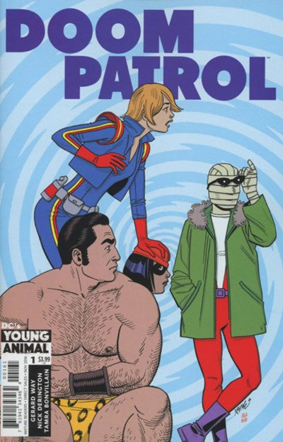 DOOM PATROL (YOUNG ANIMAL) #1 VARIANT C (2016)