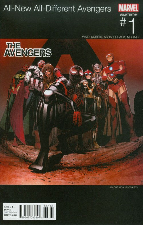 ALL-NEW, ALL-DIFFERENT AVENGERS #1 VARIANT (2016)