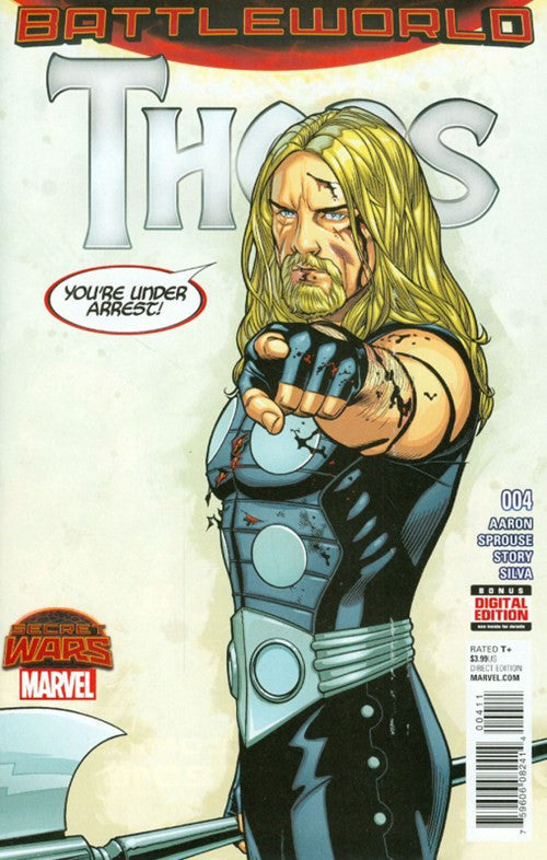 SECRET WARS: THORS #4
