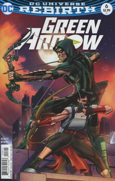 GREEN ARROW #6 VARIANT (2016)