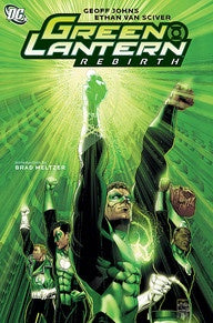 GREEN LANTERN: REBIRTH - NEW PRINTING
