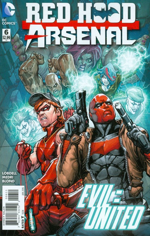 RED HOOD/ARSENAL #6 (2016)