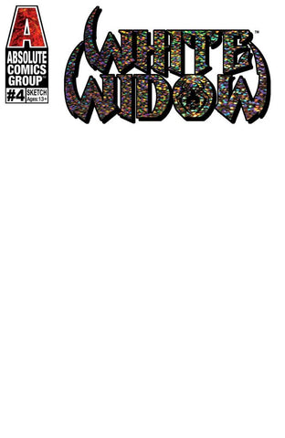 WHITE WIDOW (2019) #4 BLANK VARIANT