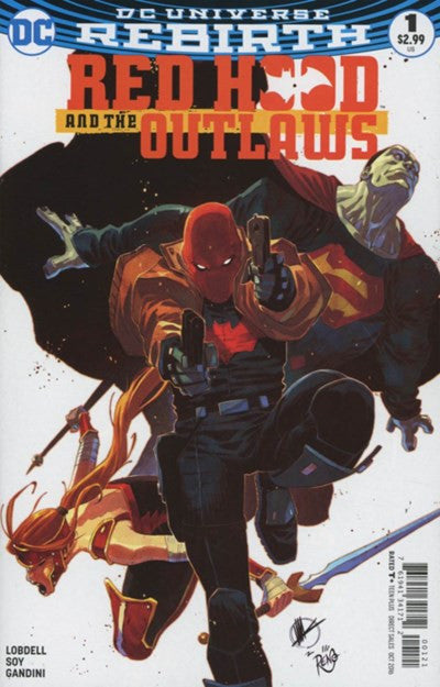 RED HOOD AND THE OUTLAWS #1 VARIANT (2016)