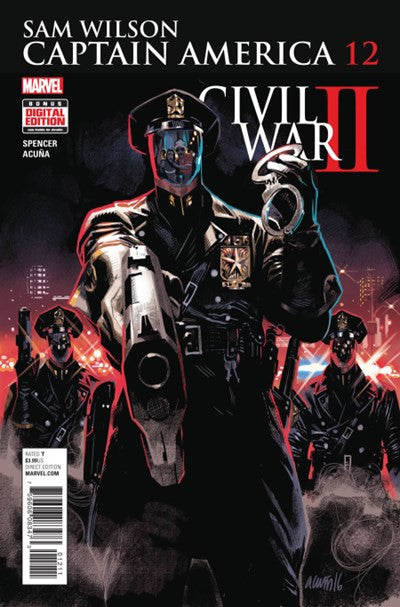 SAM WILSON CAPTAIN AMERICA #12 (2016)