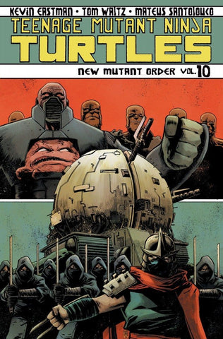 TEENAGE MUTANT NINJA TURTLES VOL. 10