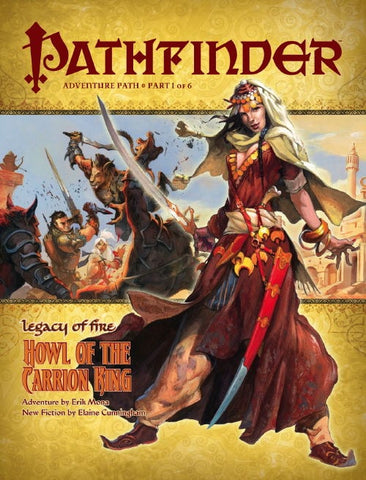 PATHFINDER ADVENTURE 19 - LEGACY OF FIRE: HOUSE OF THE CARRION KING