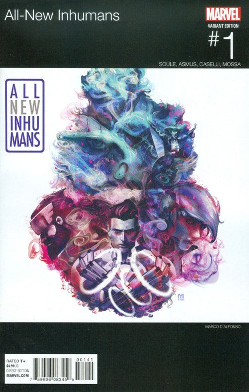 ALL-NEW INHUMANS #1 HIP-HOP VARIANT
