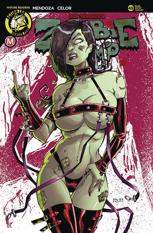 ZOMBIE TRAMP (DANGER ZONE) #49 VARIANT