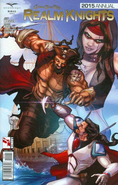 GRIMM FAIRY TALES PRESENTS REALM KNIGHTS 2015 ANNUAL VARIANT D