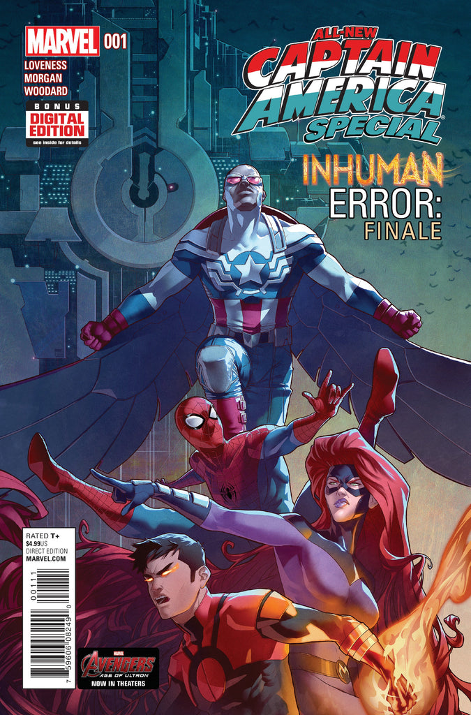 "ALL-NEW CAPTAIN AMERICA SPECIAL #1 ""INHUMAN ERROR: FINALE"""