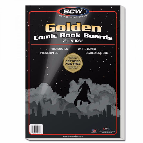 BCW GOLDEN AGE COMIC BOARDS