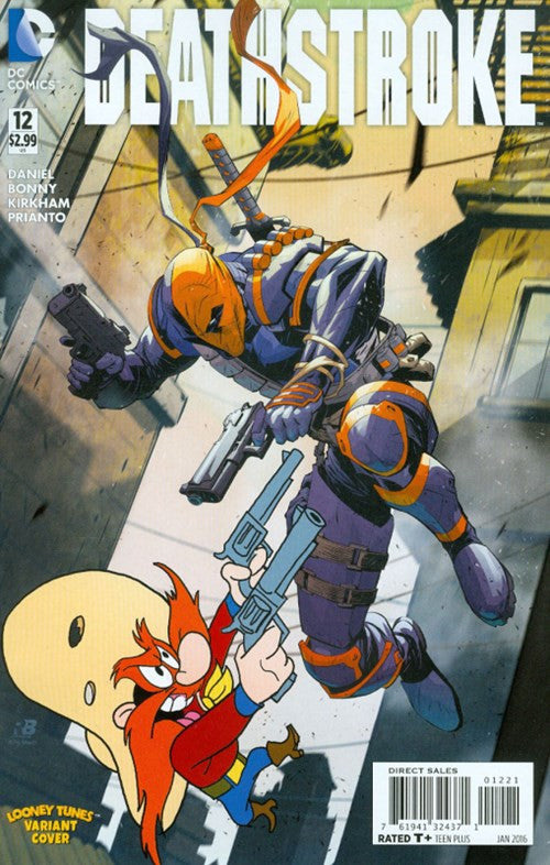 DEATHSTROKE #12 LOONEY TUNE VARIANT