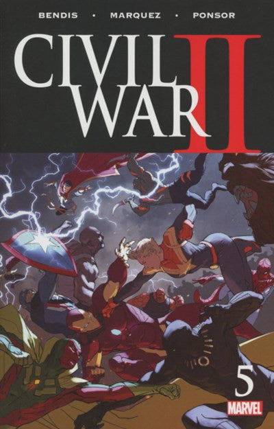 CIVIL WAR II #5 (2016)