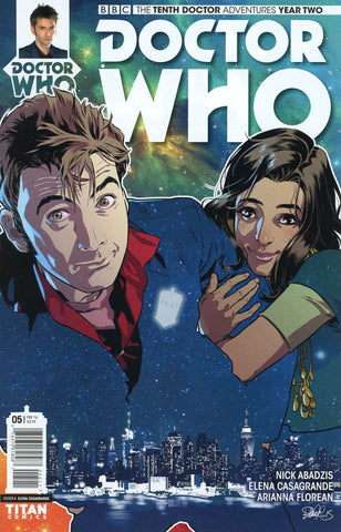 DOCTOR WHO: THE TENTH DOCTOR YEAR TWO #5