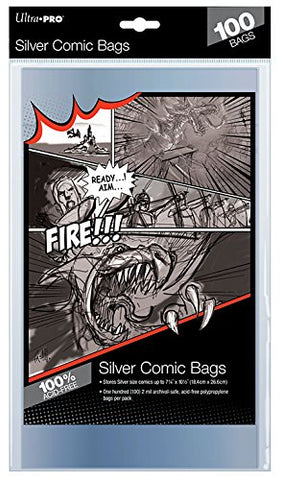 ULTRA PRO Silver Size Bags Comic Accessories