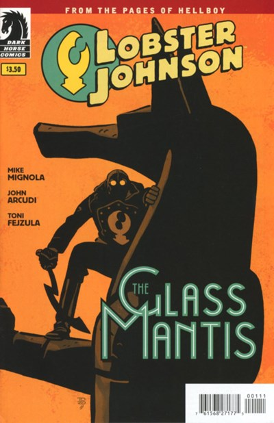 LOBSTER JOHNSON: THE GLASS MANTIS #1