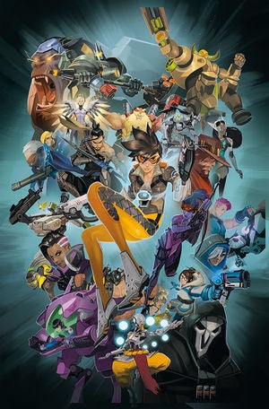 OVERWATCH ANTHOLOGY HC