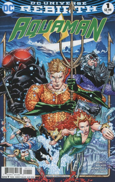 AQUAMAN #1 (REBIRTH)