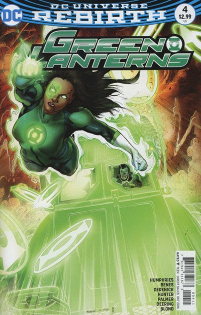 GREEN LANTERNS #4 (REBIRTH)