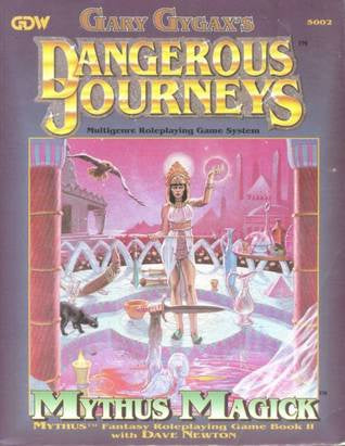 GARY GYGAX'S - DANGEROUS JOURNEYS MYTHUS MAGICK