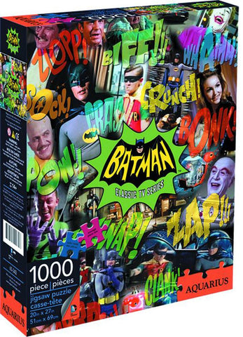 DC COMICS - BATMAN 66' CLASSIC TV SERIES 1000 PIECE PUZZLE