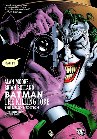 BATMAN: THE KILLING JOKE THE DELUXE EXDITION HC