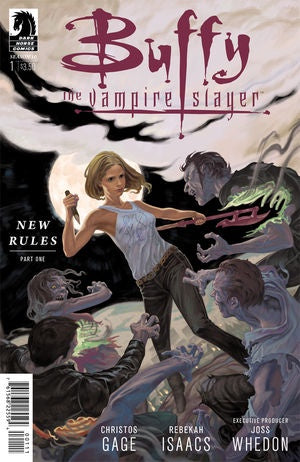 BUFFY THE VAMPIRE SLAYER SEASON 10 #1 (STEVE MORRIS COVER)