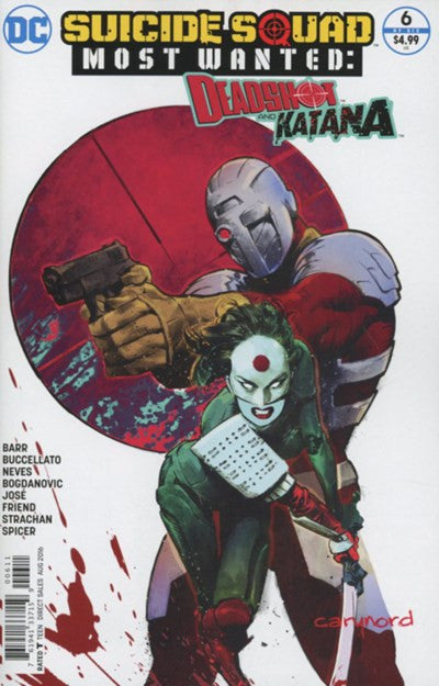 SUICIDE SQUAD MOST WANTED: DEADSHOT & KATANA #6 (2016)