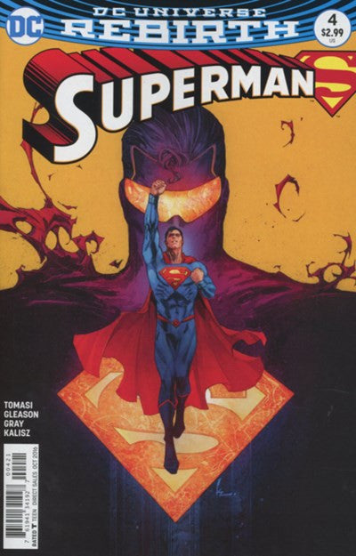 SUPERMAN #4 VARIANT (REBIRTH)