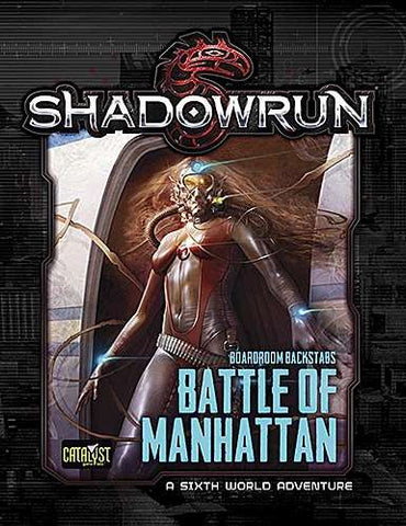 SHADOWRUN: BATTLE OF MANHATTAN - BOARDROOM BACKSTABS 3