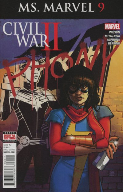 MS.MARVEL #9 VOLUME 4