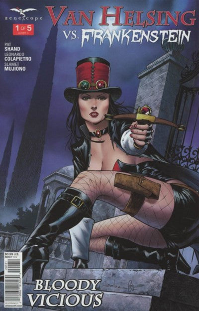 GRIMM FAIRY TALES PRESENTS VAN HELSING VS FRANKENSTEIN #1 VARIANT C (2016)